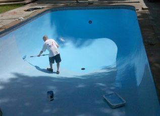 Pool Painting Rochester Ny Painters Red Truck Painting